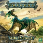 2016 Dragon Calendar by Ciruelo