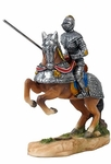 Armored Knight with Jousting Lance