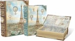 Balloons Over Paris Large Nesting Book Boxes