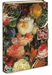 Baroque Flowers Brooch Flap Journal