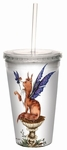 'Be Good' Cat & Fairy Cool Cup