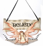 Believe Fairy Wall Plaque