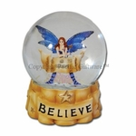 Believe Fairy Water Globe