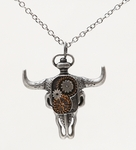 Bison Clockwork Necklace