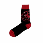 Black Targaryen Sigil Socks: Game of Thrones