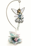 Blue Ballerina Fairy Ornament
