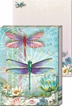 Blue Dragonfly  Diecut Pocket Note Pad
