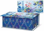 Blue Paris Music Box with Verbena Soap