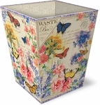 Bluebell Butterflies Waste Bin