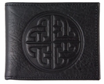 Bold Celtic Leather Wallet