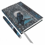 Book of Shadows Embossed Journal with Pen