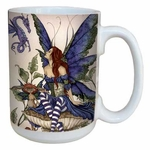 Bottom of the Garden Fairy Coffee Mug