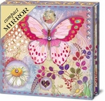 Butterfly Bubbles Compact Mirror