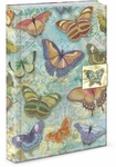 Butterfly Menagerie Brooch Flap Journal