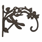 Cast Iron Dragonfly Plant Holder