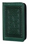 Celtic Braid Leather Card Holder