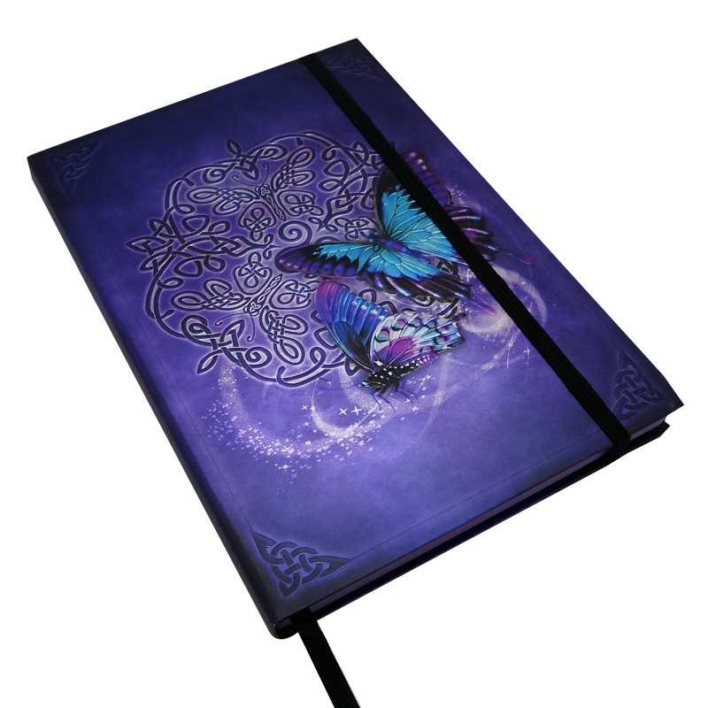 Embossed Celtic Butterfly Journal By Brigid Ashwood