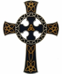 Celtic Cross Wall Plaque 1