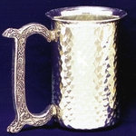 Celtic Hammered Pewter Stein