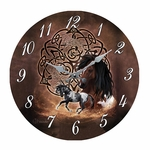 Celtic Horse Clock