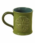 "Celtic Coffee Mug ""May the Road"""