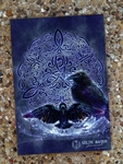 Celtic Raven Soft Cover Journal