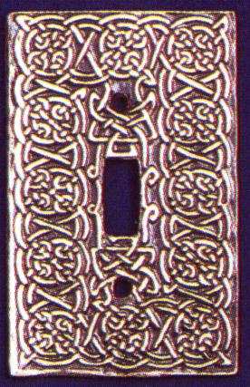 Celtic Spirit Switch plate (single)