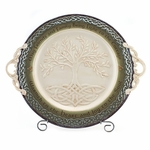 Celtic Tree of Life Serving Platter