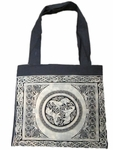 Celtic Triple Horse Tote Bag
