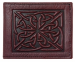 Celtic Weave Leather Wallet