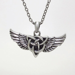 Celtic Wing Necklace