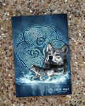 'Celtic Wolf' Journal by Brigid Ashwood