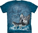 Celtic Wolf T-shirt