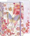 Cherry Blossom Soft Cover Bungee Journal