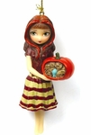 A Clockwork Pumpkin Fairy Ornament