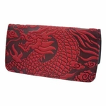 Cloud Dragon Leather Smart Phone Wallet