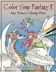 Color Your Fantasy II Coloring Book