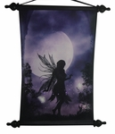 Dancing in The Moonlight Fairy Art Scroll