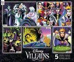 5-in-1 Disney Villains Puzzle Set