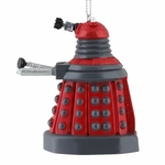 Doctor Who Red Dalek Ornament