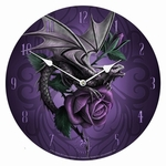 Dragon Beauty Wall Clock