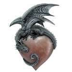 Dragon Heart Wall Plaque