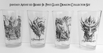 Dragon Pint Glass Set