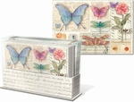 Dragonflies Desk Caddy Note Card Set