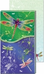 Dragonfly Metallic Pocket Note Pad