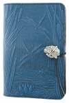 Dragonfly Pond Leather Journal