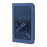 Dragonfly Pond Leather Smart Phone Wallet