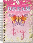 Dream Big Butterfly Spiral Bound Journal