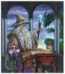 'The Wizard's Emissary' Large Print<br> by Ed Beard Jr