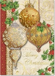 Elegant Ornaments Christmas Cards